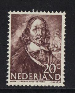 Netherlands 1943   MH Dutch Naval Heroes  20ct  #