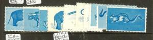 INDIA NAGALAND (B0802B) CINDERELLA ANIMAL UNFINISHED PROOFS X10