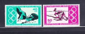 Germany B530-B531 Set MNH Sports, Olympics
