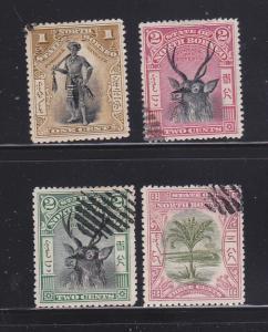 North Borneo 79-82 U Various
