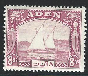 Aden  KGVI mh S.C.  8