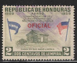 Honduras  Scott Co99 Used official airmail stamp