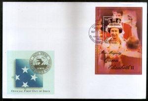 Micronesia 2003 Queen Elizabeth II Royal Family Sc 542 M/s FDC # 9394