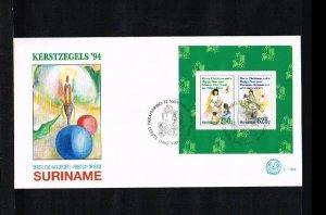 1994 - Rep. Surinam FDC E179A - Festivals & Seasonal - Christmas [LN029]