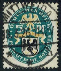 Germany Scott B12 Used.