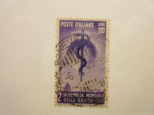 ITALY  Scott  522  USED  LotX  Cat $15
