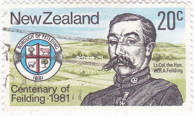 New Zealand 1981 Lt. Fielding 20c used SG 1237