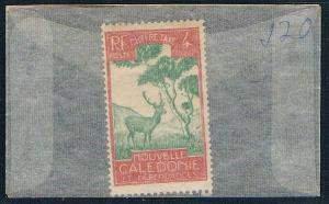 New Caledonia J20 Unused Malayan Sambar (N0564)