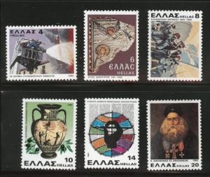 GREECE Scott 1356-1361 MNH** 1980 set