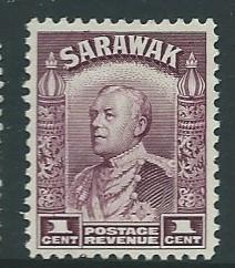 Sarawak #109  (MH)  CV $1.50