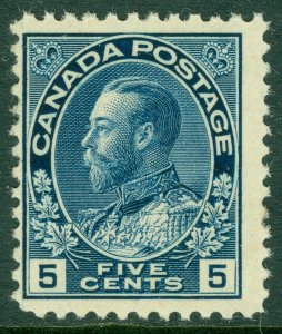 EDW1949SELL : CANADA 1912 Scott #111 Mint Original Gum. Fresh stamp. Cat $160.00