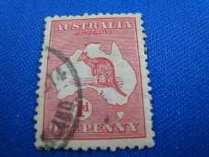 AUSTRALIA - SCOTT #21c  -  USED   (wwa10)