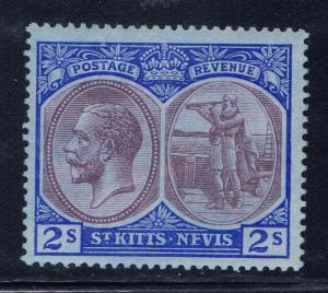 St Kitts-Nevis 32 MH 1920 issue 2019