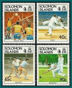 Solomon Islands 1991 South Pacific Games, MNH #694-697,SG698-SG701
