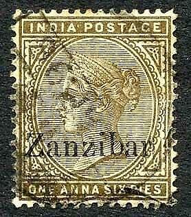 Zanzibar SG5 1a6p Inverted Q for B