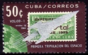 1964 Cuba 945 Overprint - Voskhod 1 # 943 4,50 €