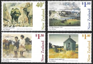 New Zealand # 1522 - 25 Mint Never Hinged
