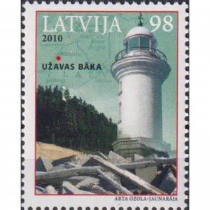 Latvia 2010 Lighthouses of Latvia  (MNH)  - Lighthouses