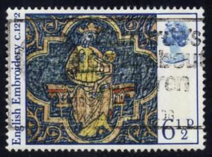 Great Britain #798 Virgin and Child; used (0.25)