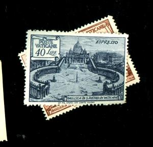 Vatican City #E11-12 MINT F-VF OG NH