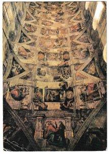 Vatican City Postcard,   Telstar Broadcast from Sistine Chapel. July 23, 1962