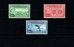 BRITISH HONDURAS - 1960 - QE II - POST OFFICE - PUBLIC SEALS + MINT - MNH SET!