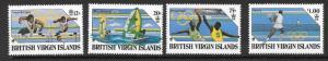 BRITISH VIRGIN ISLANDS SG679/82 1988 OLYMPIC GAMES MNH