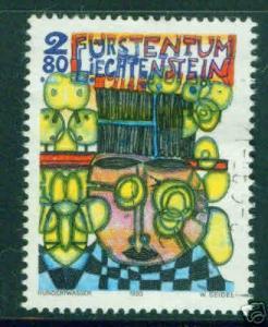 LIECHTENSTEIN Scott 1004  CV $3.50 MNH** Painting