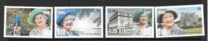 ANGUILLA SG1070/3 2000 100th BIRTHDAY OF QUEEN MOTHER   MNH