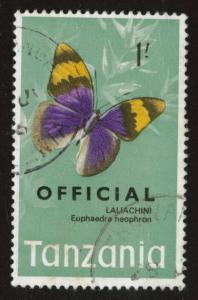 Tanzania Scott o23 used official overprint