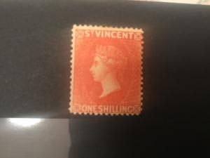 ICOLLECTZONE St Vincent #23 Fine hinged Very High Value (BK1-25)