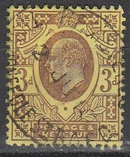 Great Britain #132 F-VF Used CV $19.00  (A3002)