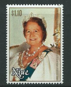 NIUE SG364 1980 QUEEN MOTHER MNH