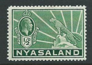 Nyasaland SG 114  MLH
