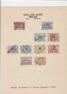 Parcel Post Stamps Ref 14964