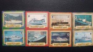 o) 1986 BRITISH VIRGIN ISLANDS - SENTINEL -RETRIEVER - CABLE ENTRERPRISE - MERCU