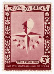 (I.B) Cinderella Collection : Festival of Britain - Emblem 3d