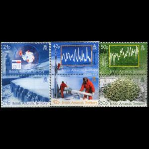 BR.ANTARCTIC TERR. 2004 - Scott# 342-4 Climate Set of 6 NH
