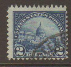 United States #572 Used
