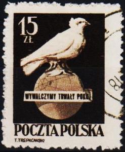 Poland. 1950 15z S.G.672 Fine Used