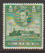 Malta SG 218 - George VI Lightly Mounted Mint
