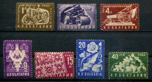 Bulgaria SC# 735-41 Vehicles & other  MNH scv $13.30