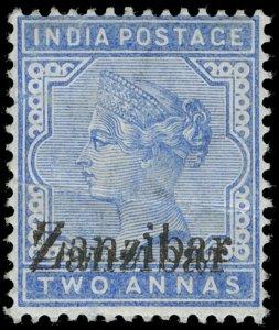 Zanzibar Scott 6d Gibbons 7m Mint Stamp