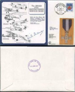 DM5b Award of the Distinguished Service Cross Signed by Neil W. Thomas