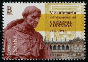 HERRICKSTAMP NEW ISSUES SPAIN Sc.# 4177 Cardinal Cisneros