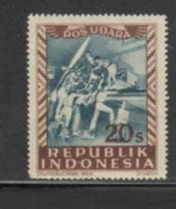 INDONESIA #C20 1949 20s AIRCRAFT MECHANICS MINT VF NH O.G