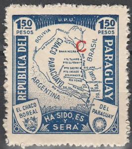 Paraguay #L36  MNH F-VF   (V3117)