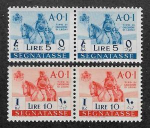 Italian East Africa,MNH unissued Signatasse stamps