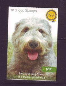 Ireland Sc 1843b 2009 Show Dog stamp booklet mint NH