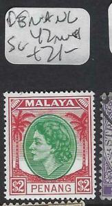 MALAYA PENANG (P0702B)  QEII  $2.00  SG 42    MNH